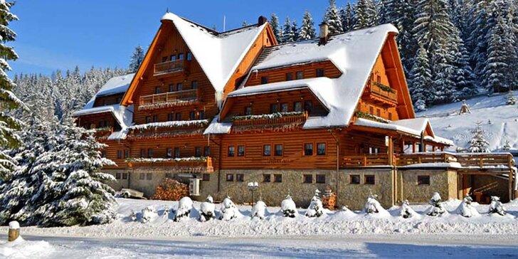 Rodinná lyžovačka v Hoteli Marlene *** na Kysuciach s wellnessom, 2 deti do 6 rokov zadarmo