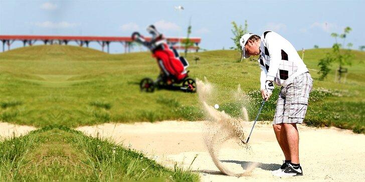 Intenzívny kurz golfu s TOP trénerom a získanie zelenej karty