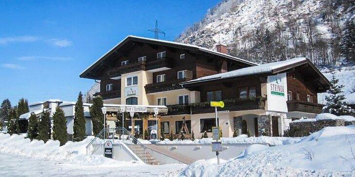 Fantastický SKI pobyt blízko lanovky v rakúskych Alpách Kaprun / Zell am See