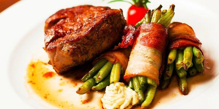 Hviezdne hovädzie steaky v Modrej Hviezde
