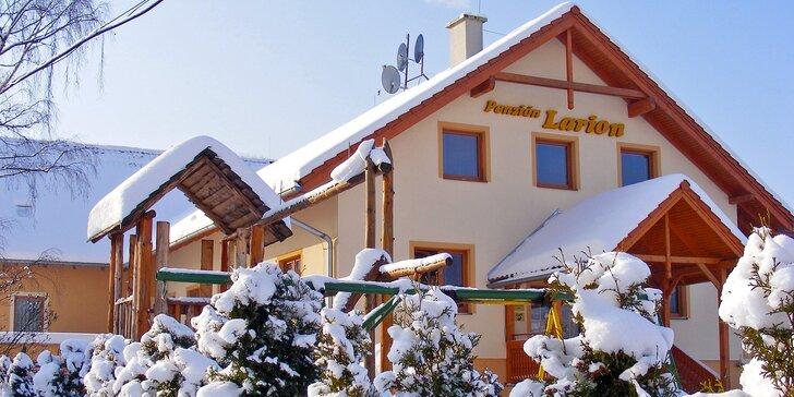 Rodinná dovolenka na Liptove v Penzióne LARION s výbornou dostupnosťou do Nízkych a Vysokých Tatier, 2 deti ZDARMA!