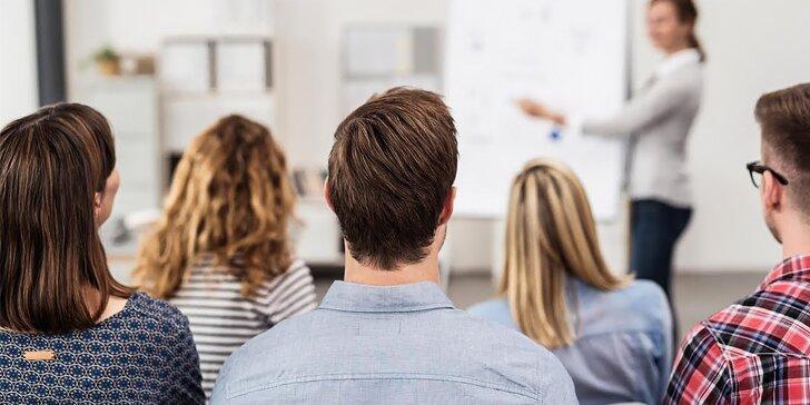 Urobte si kurz a nakopnite svoju kariéru! Komunikačné zručnosti, biznis plány, marketing, životopis/portfólio
