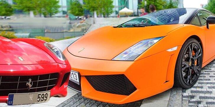 Jazda snov na Lamborghini Gallardo LP560-4 a Ferrari 599GTB