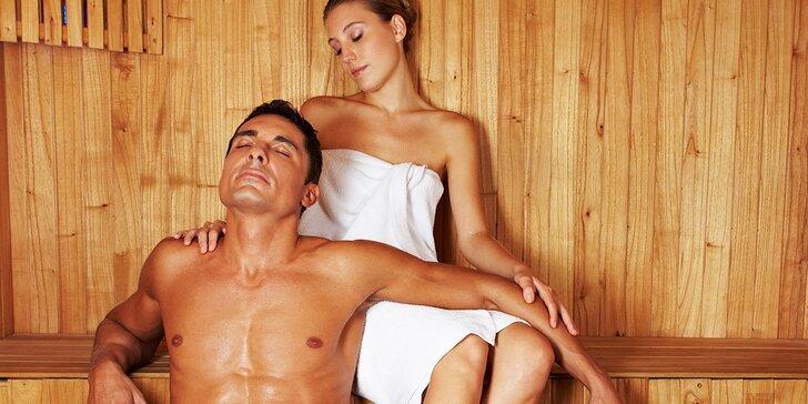 Privátna fínska sauna pre dvoch aj s drinkom