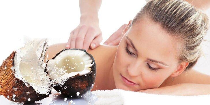 60-minútová masáž s kúzlom exotiky v salóne Masáže na pešej