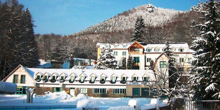 Wellness pobyt a lyžovačka v Hoteli Remata***