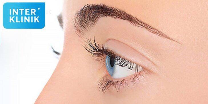 Profesionálna operácia očných viečok