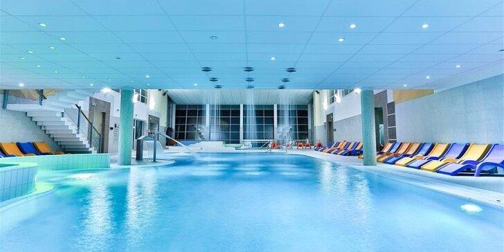 Luxusný 4-dňový pobyt pre 2 dvoch s wellnesom a aquaparkom