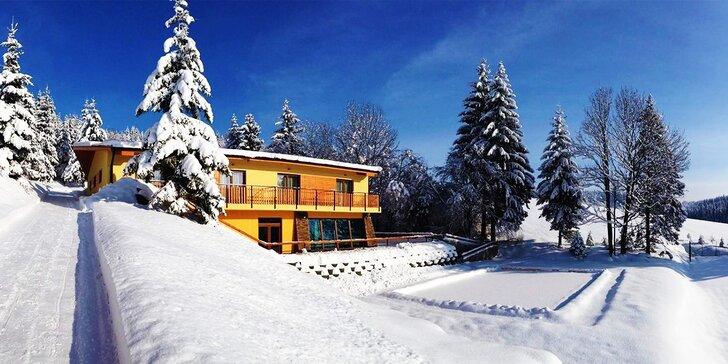 Rodinná wellness*** dovolenka pre 4 až 6 osôb uprostred prekrásnej Oravskej prírody