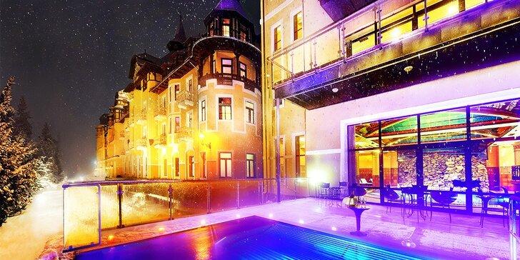 Wellness pobyt v Grandhoteli Praha**** v Tatranskej Lomnici