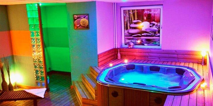 Súkromný wellness pre 2 osoby v novootvorenom centre Hotela Modena