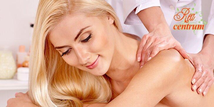 Relaxačno-zdravotná masáž, vhodná aj pre páry