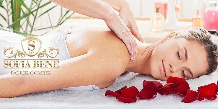 Nakombinujte si 50 minútovú masáž podľa seba