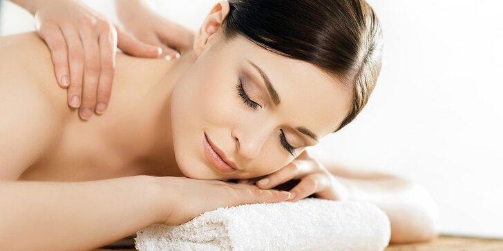 Ayurvédska masáž chrbta alebo celého tela na Štúrovej ulici v salóne Asana