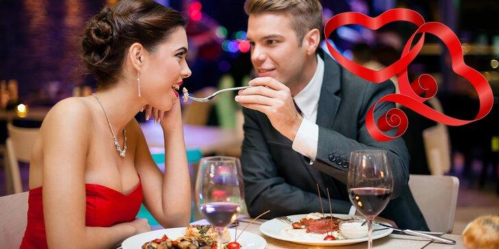 Valentínsky pobyt s gurmánskym romantickým menu a privátnym wellness, pár minút od centra Bratislavy!