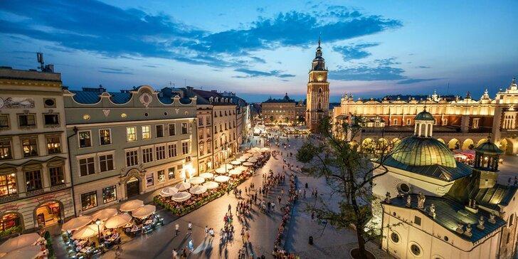 Skvelé dva dni poznávania Krakowa, soľnej bane WIELICZKA a neslávne známeho Osvienčimu. Nástupné miesta z celého Slovenska bez príplatku!