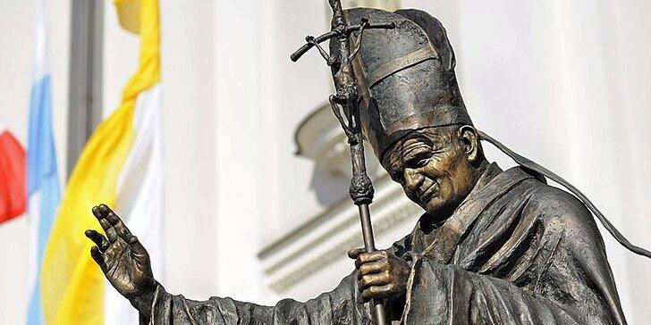 Po stopách pápeža Jána Pavla II. - Wadowice a Krakow