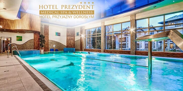 Exkluzívny WELLNESS & SPA pobyt v Hoteli Prezydent**** v Poľsku, platnosť do 20. júla!