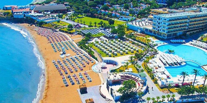 8-dňový letecký zájazd na Severný Cyprus all inclusive do 5* hotela