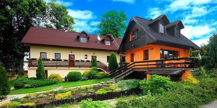 Ubytovanie v chatkách Aquatherm v krásnej časti Slovenska na Liptove pre 4 osoby