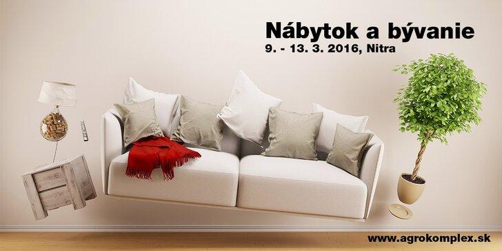 Medzinárodná výstava Nábytok a bývanie 2016, Agrokomplex Nitra