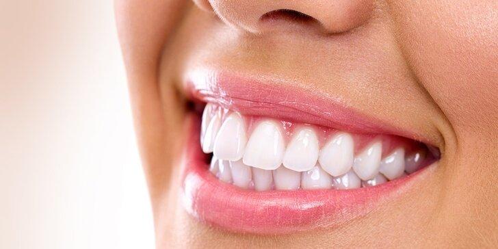 Profesionálne bielenie zubov bez peroxidu