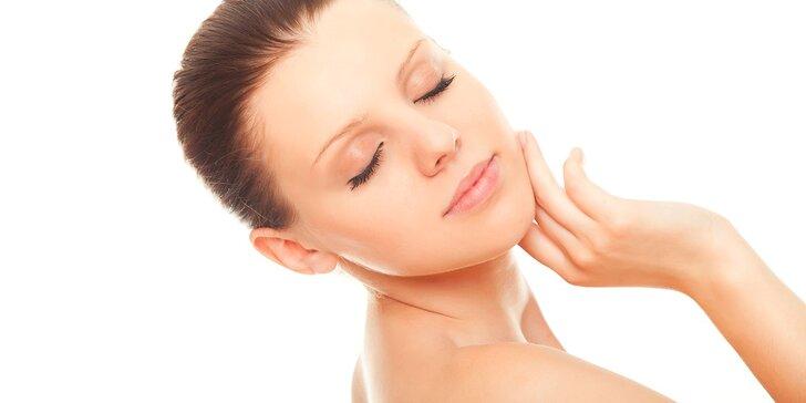 Hĺbkové čistenie pleti s ozónom a možnosťou ultrazvuku či ošetrenie Lift Age