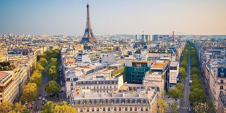 Poznávací zájazd do Paríža luxusným autobusom