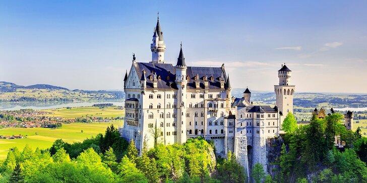 Nádhera BAVORSKÝCH ZÁMKOV - poznávací zájazd po najkrajších a najnavštevovanejších zámkoch v Nemecku
