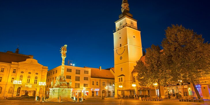 Pobyt pre 2 osoby v historickom centre Trnavy