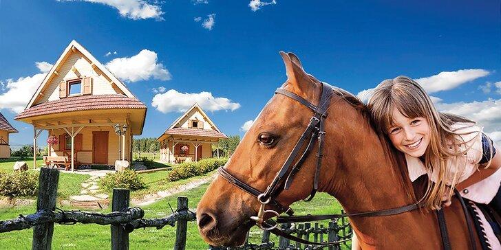 Dovolenka na ranči na Orave, bežkárske trate, relax, jazda na koni a 50 % zľavy na skipasy