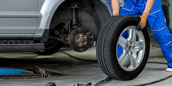 Prezúvanie pneumatík, geometria a bezplatná kontrola podvozku
