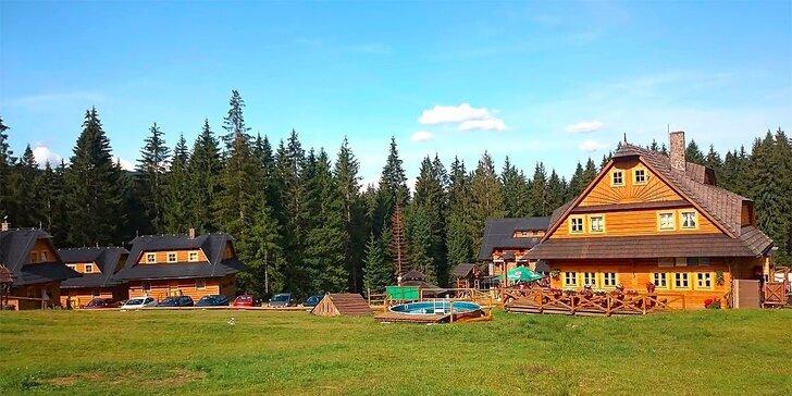 Jarný víkendový pobyt s wellness v panenskom horskom prostredí