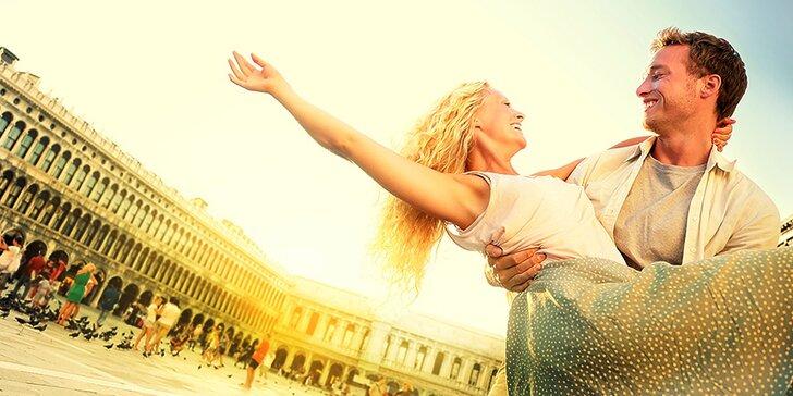 Zaľúbený máj na poznávačke v úžasných Benátkach a romantickej Verone