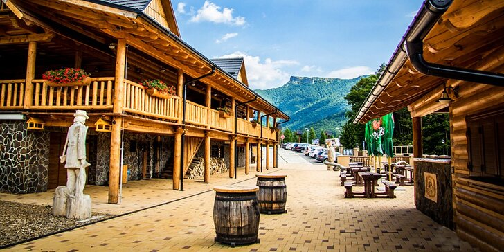 Veľkonočný pobyt v prekrásnom prírodnom prostredí horského hotela Kľak s polpenziou, saunou a minizoo