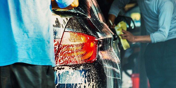 Ručné čistenie vášho auta! Vyberte si svoj program!