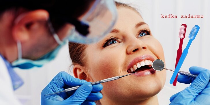 Profesionálna dentálna hygiena v stomatologickej ambulancii
