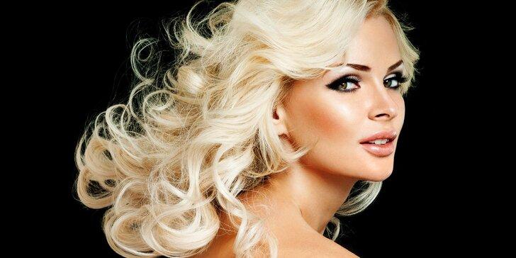Strih so stylingom, farbenie alebo ošetrenie vlasov STEAM POD