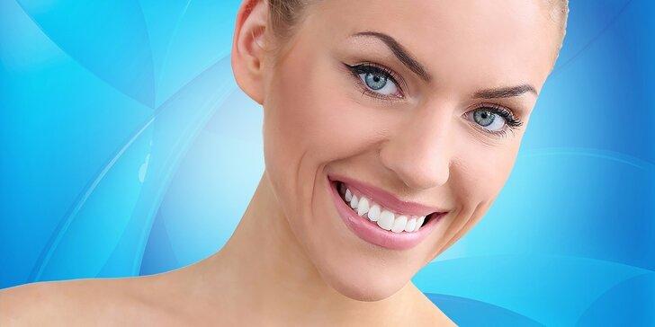 Dentálna hygiena, bielenie alebo plombovanie s viac ako polovičnou zľavou!