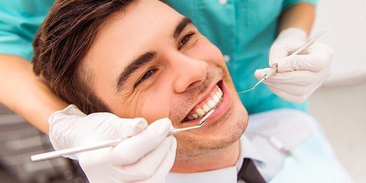 Top ambulantná dentálna hygiena s možnosťou bielenia - akcia za super cenu! Otvorené aj v SOBOTU!