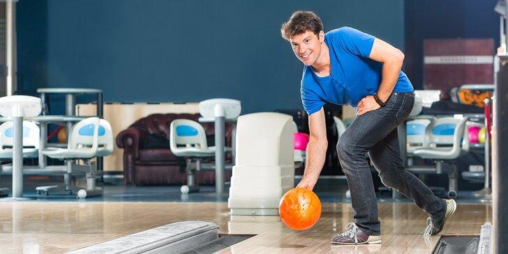 Bowling na 1 alebo 2 hodiny v Hoteli Baník v Nitrianskom Rudne