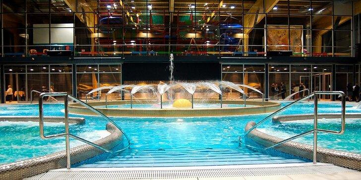 Hotel AquaCity Riverside*** so vstupom do všetkých bazénov aquaparku a vstupom do Fire & Water Wellness & Spa Centra
