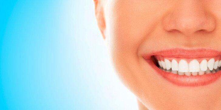 Dentálna hygiena, pieskovanie, bielenie + pieskovanie
