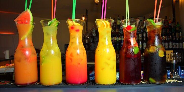 Litrové ALKO a NEALKO drinky v novootvorenom bare Metropol