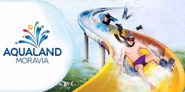 Celodenný vstup do Aqualand s možnosťou procedúry, dezertu alebo wellness