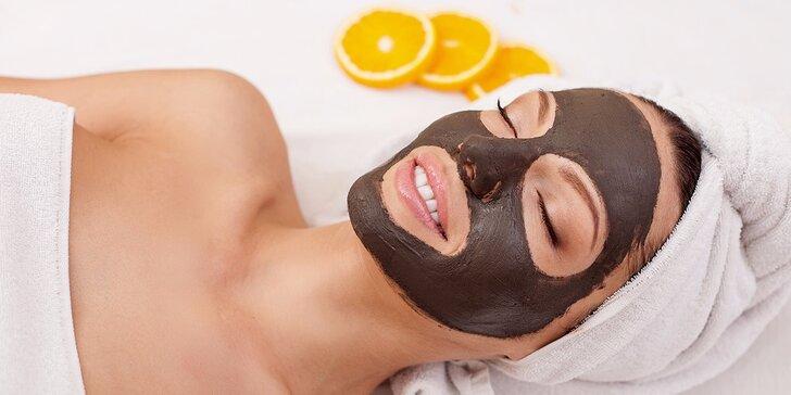 Čokoládové ošetrenie pleti, hĺbkové čistenie naparovaním alebo Skin Scrubber