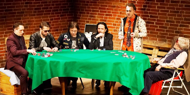 Vstupenka na divadelné predstavenie Dílerova voľba