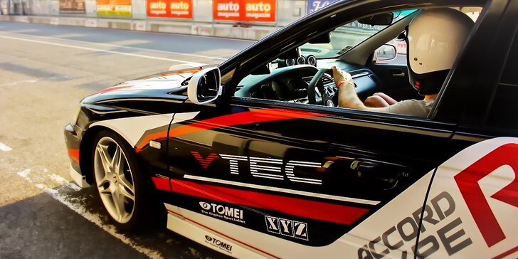 Dajte si 1 alebo 2 kolečká na Slovakia Ringu v krásnej Honda Accord R