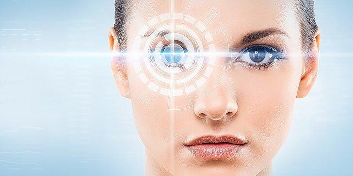 Špičková bezbolestná laserová operácia očí s vyšetrením a s doživotnou zárukou v cene