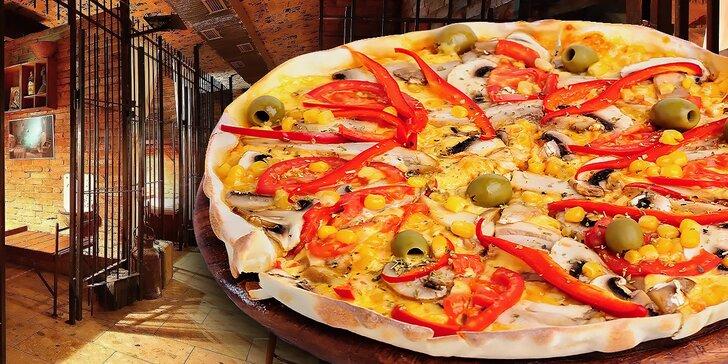 2 x pizza podľa vlastného výberu v štýlovom väzení Alcatraz
